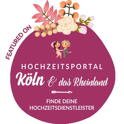 Featured auf Hochzeit & Heiraten in Köln, Nordrhein-Westfalen